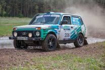 В Тольятти гоночный автомобиль на газе принял участие в ралли