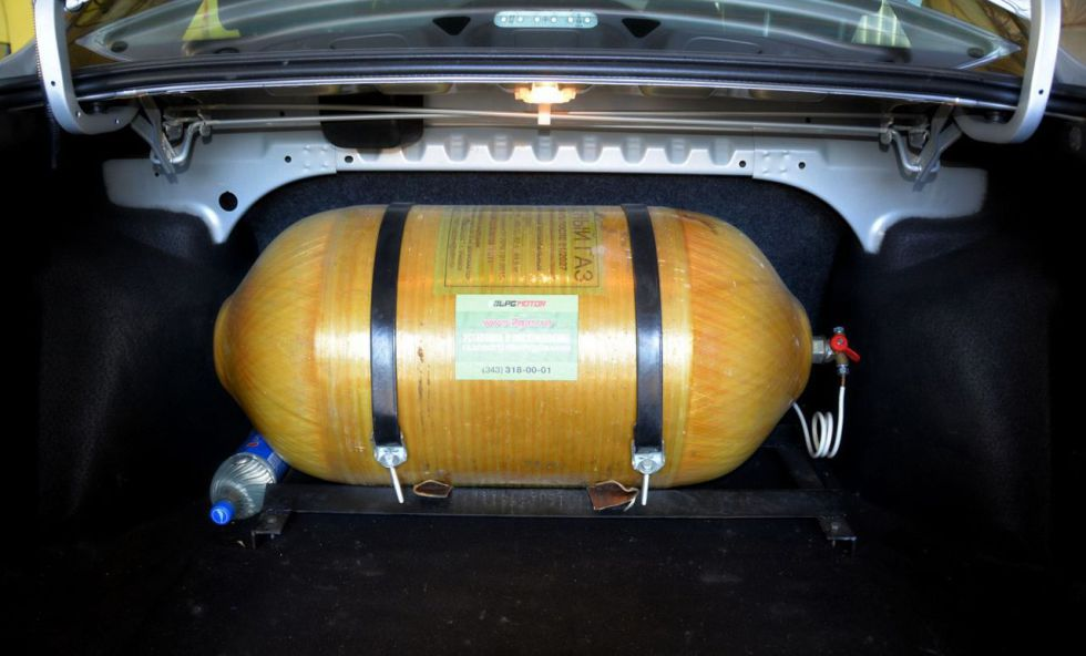 Пример установки метан