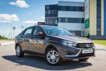 Началось производство двухтопливного авто LADA Vesta CNG