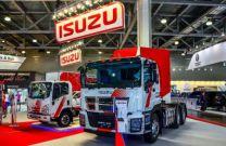 Компания Isuzu презентовала первый грузовик с ГБО