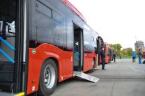 30 автобусов Lotos и «НЕФАЗ» на газовом топливе прибыли в Казань