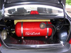 Газовое оборудование на авто в Екатеринбурге