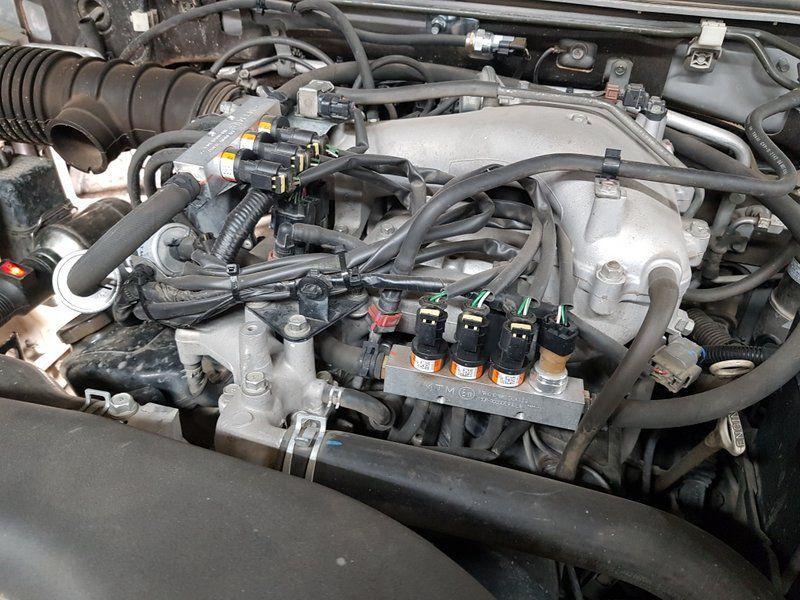 Оборудование BRC Plug&Drive PLUS cо скорострельными форсунками BRC IN03 MY09