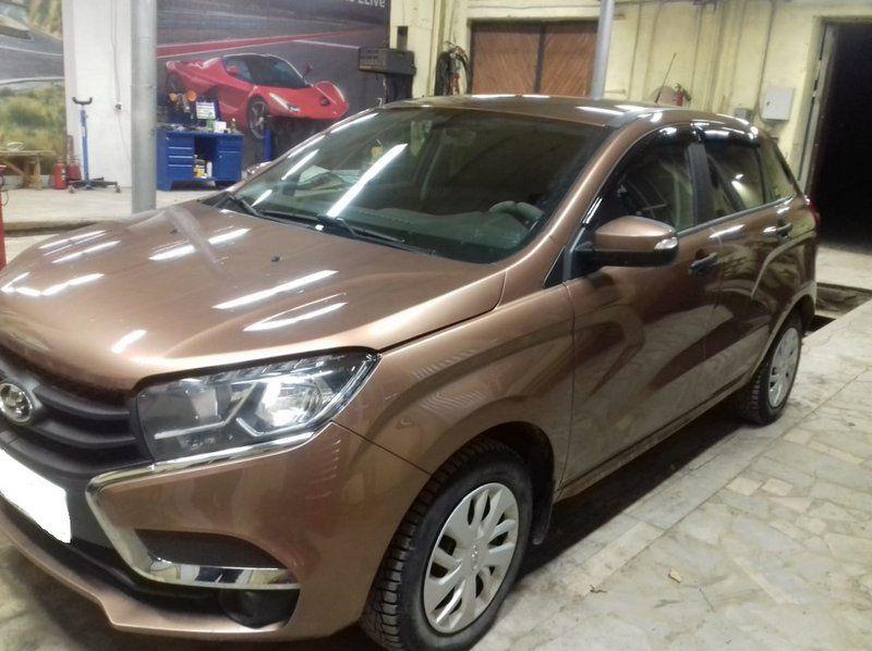 ВАЗ Lada XRAY GAB 110, 4-цилиндровый, объем 1.6 л (106 л.с.
