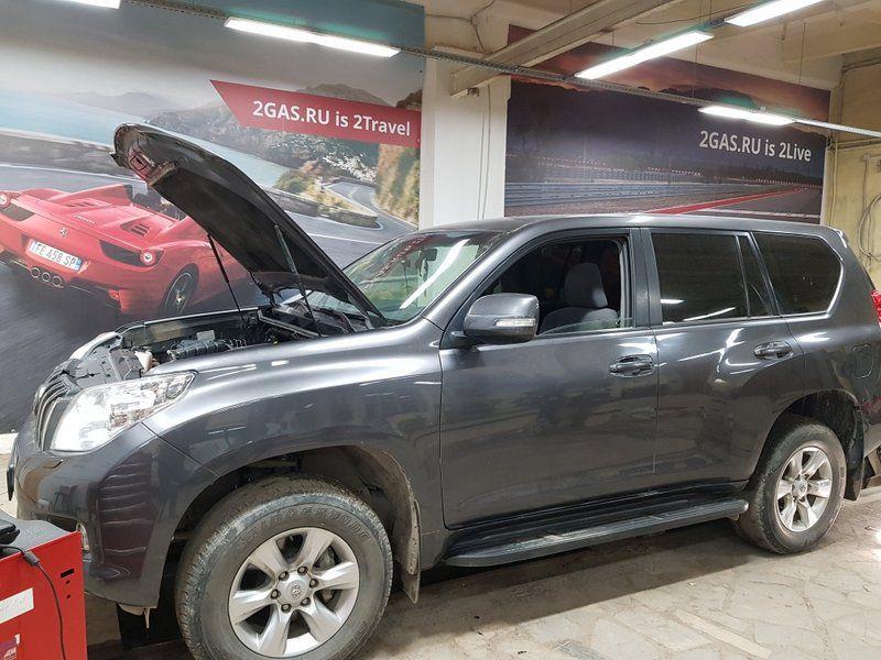 Toyota Land Cruiser Prado 150 (J150), рядный, 4-цилиндровый, объем 2.7 л (163 л.с.)