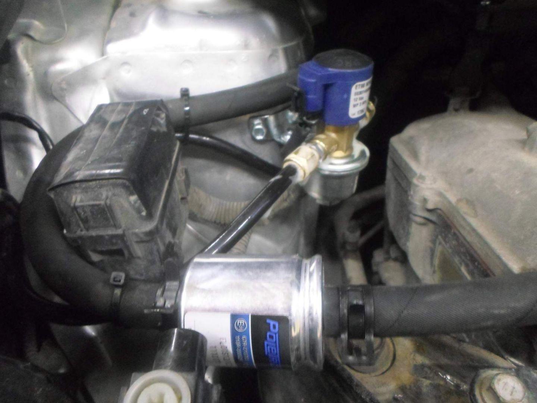 Установка ГБО на Toyota Scion xD