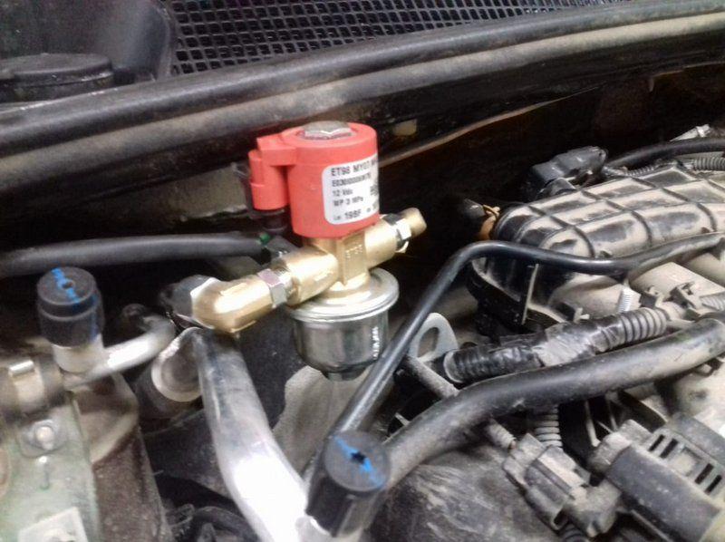 Клапан газовый BRC ЕТ 98